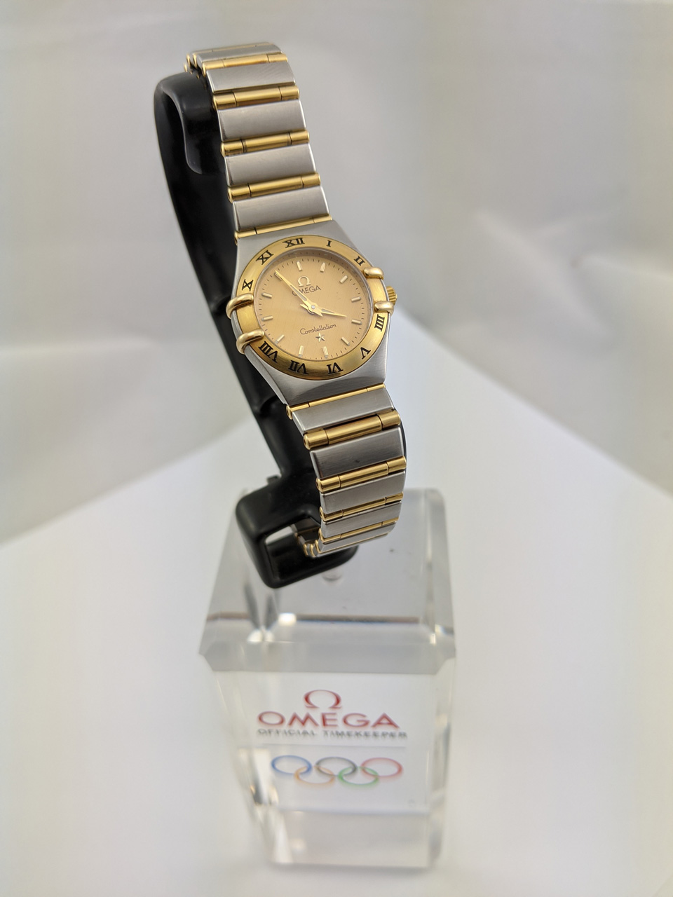 Omega Constellation 18K/SS Ladies