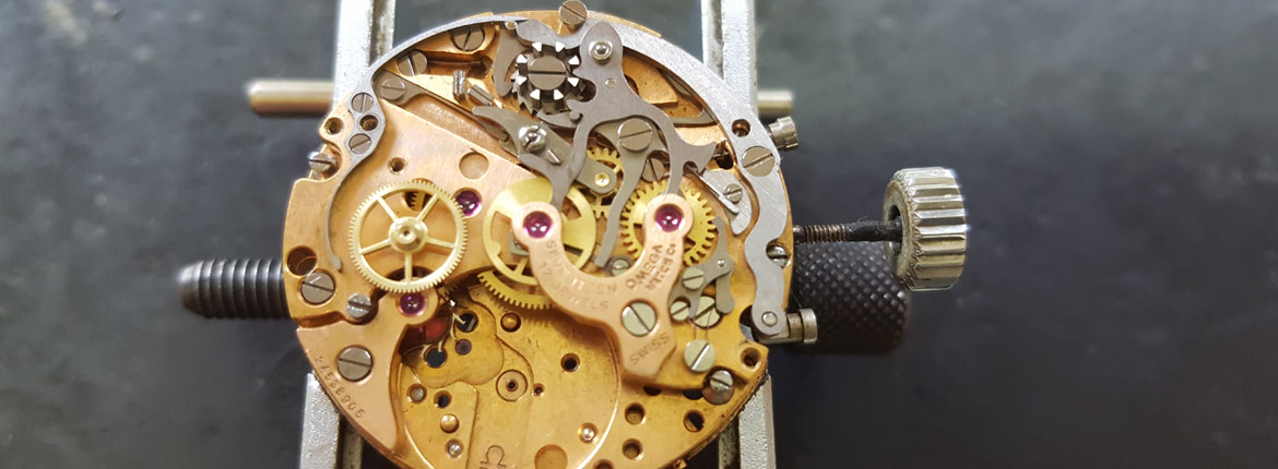 Omega watch servicing and repair